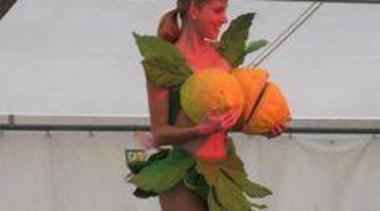 at Ellerslie International Flower Show - Jenny Gillies' dancer, performing arts, gray