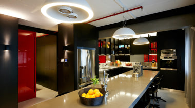 Daniel Ash Architects – 2015 TIDA Australia Kitchens countertop, interior design, kitchen, black, gray