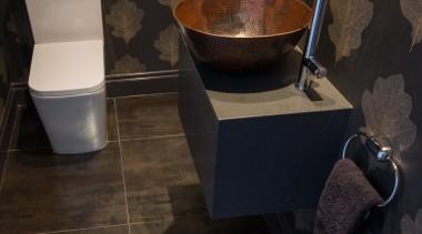 Citylife Apartment - Citylife Apartment - bathroom | bathroom, ceramic, floor, flooring, hardwood, interior design, plumbing fixture, room, sink, tile, toilet, wall, wood, black