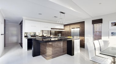 Kitchen design. - The Haven Display Home - interior design, kitchen, real estate, white