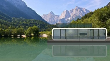 Coodo is a German mobile home modular system alps, fjord, hill station, home, house, lake, landscape, mount scenery, mountain, mountain range, national park, real estate, reflection, reservoir, water, water resources, green