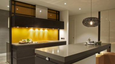 JAG KitchensThis kitchen also won the Housing Industry cabinetry, countertop, cuisine classique, interior design, kitchen, lighting, under cabinet lighting, brown