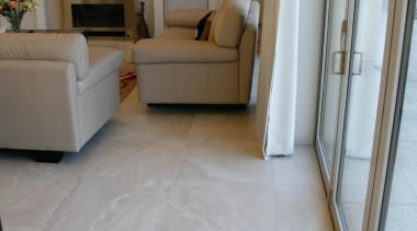 travertino bone living area porcelain floor tiles - floor, flooring, hardwood, home, house, interior design, laminate flooring, living room, property, real estate, room, tile, wall, wood, wood flooring, gray