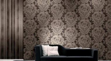 Modern Style Range - black and white   black and white, couch, interior design, living room, pattern, wall, wallpaper, gray, black