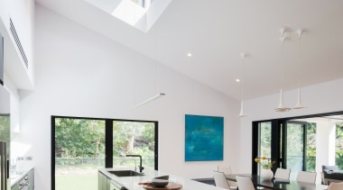 Bijl Architecture architecture, ceiling, daylighting, estate, house, interior design, interior designer, living room, property, real estate, window, gray, white
