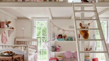 Creative and unique children's bedrooms - Amazing Kids' bed, bunk bed, furniture, home, house, interior design, product, room, shelf, shelving, window, gray