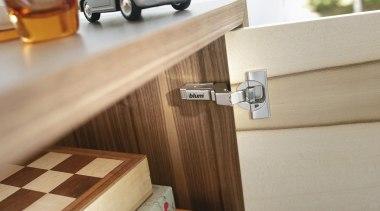 CLIP top BLUMOTION - Hinge System - floor floor, flooring, furniture, product design, table, wood, gray, brown