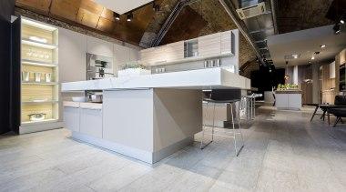 Concreate CF101 PoggenPohl 11 - Concreate_CF101_PoggenPohl_11 - countertop countertop, floor, flooring, interior design, kitchen, gray