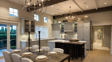 20 - ceiling | countertop | dining room ceiling, countertop, dining room, interior design, kitchen, room, brown
