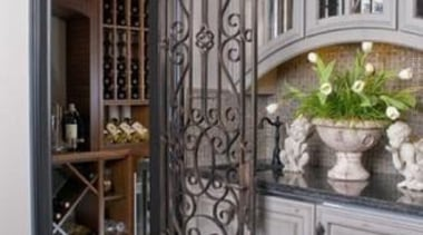 Modern Wine Cellar Ideas - Modern Wine Cellar cabinetry, door, interior design, iron, window, gray, black
