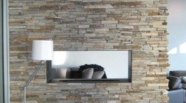 Ledgestone Collection Need to contact Natural Stone Veneers brick, fireplace, floor, hearth, interior design, living room, wall, gray, black