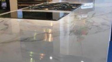 At Ellerslie International Flower Show - Formica 180fx countertop, floor, flooring, glass, granite, tile, gray