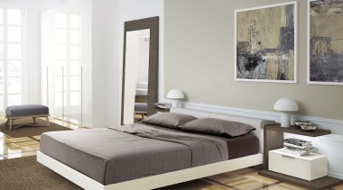 For more information, please visit www.archinteriors.co.nz bed, bed frame, bed sheet, bedroom, couch, floor, furniture, interior design, living room, mattress, sofa bed, white