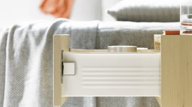METABOX drawers and pull-outs have just a few drawer, floor, furniture, product, product design, table, white, gray