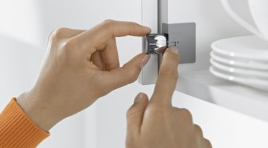 SERVO-DRIVE for AVENTOS - finger | hand | finger, hand, product, product design, white