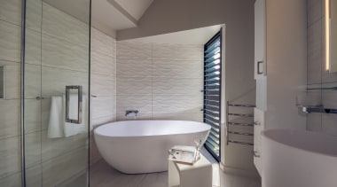 See more from Houston Architects architecture, bathroom, bidet, daylighting, floor, interior design, plumbing fixture, room, tap, tile, gray