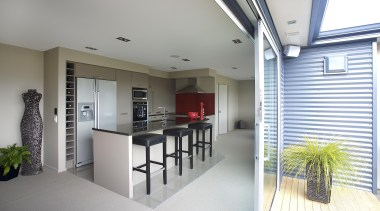 For more information, please  visit www.gjgardner.co.nz daylighting, door, house, interior design, property, real estate, window, gray, white