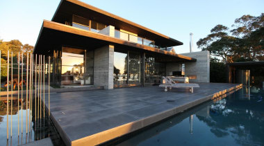 Westmere House - Westmere House - architecture | architecture, home, house, property, real estate, roof, swimming pool, villa, black, white