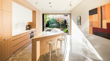Mitsuori Architects –  2015 TIDA Australia Kitchens – architecture, house, interior design, property, real estate, white, orange