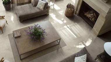 travertino white lounge interior floor tiles - Travertino coffee table, couch, floor, flooring, furniture, hardwood, home, interior design, laminate flooring, living room, table, tile, wood flooring, gray, black