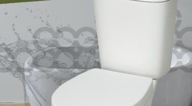 Roundly Versatile - A beautifully uncomplicated range of ceramic, plumbing fixture, product, tap, toilet, toilet seat, white, gray