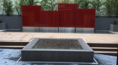 Sugartree 3 - Sugartree 3 - bench | bench, furniture, outdoor furniture, outdoor structure, sunlounger, table, water, gray