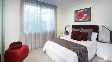 Bedroom design. - The Lexington Two Storey Display bedroom, home, interior design, property, real estate, room, window, gray, white
