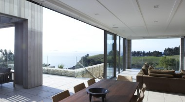 When you have stunning views the only option architecture, ceiling, daylighting, floor, house, interior design, real estate, roof, window, gray