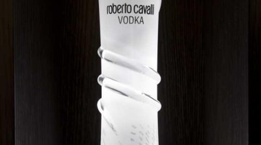 Roberto Cavalli Vodka bottle - Vodka Bottle - bottle, distilled beverage, drink, glass bottle, liqueur, product, black