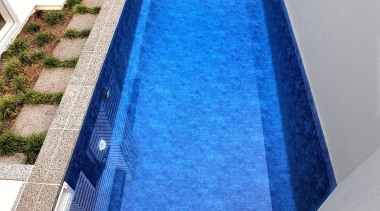 Gold Award recipient for Residential Swimming Pools over daylighting, floor, glass, property, swimming pool, water, blue, gray
