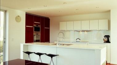 Korokoro Kitchen - Korokoro Kitchen - architecture | architecture, ceiling, countertop, floor, furniture, interior design, kitchen, real estate, room, table, wall, yellow, orange