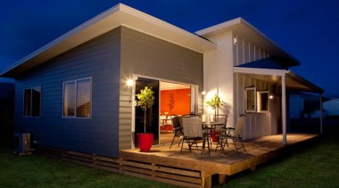 HardieFlex Sheets - HardieFlex Sheets - architecture | architecture, backyard, cottage, estate, facade, home, house, lighting, property, real estate, residential area, siding, villa, blue, brown