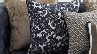 Strassbourg 7 - Strassbourg 7 - cushion | cushion, furniture, linens, pattern, pillow, textile, throw pillow, black, white
