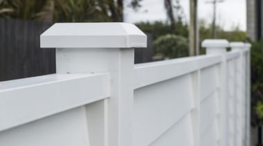 theblock2014090.jpg - theblock2014090.jpg - fence | home fencing fence, home fencing, outdoor structure, product, product design, roof, gray