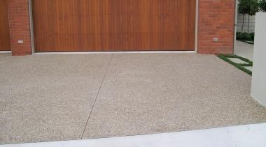 Colourmix 22 - Colourmix_22 - asphalt | concrete asphalt, concrete, door, driveway, floor, flooring, garage, garage door, property, real estate, road surface, wood stain, gray, brown