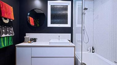 Entrant: Rebecca Banks  – 2015 NKBA Design bathroom, interior design, room, teal, black