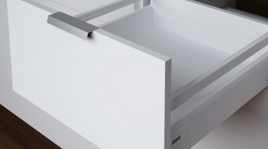 The MS model from Harn Ritma features a angle, bathroom sink, drawer, furniture, plumbing fixture, product, product design, sink, table, tap, gray