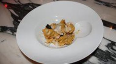 At Euro Bar & Restaurant - At Euro cuisine, dish, dishware, food, meal, tableware, gray