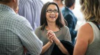 At The Cloud. - At The Cloud. - communication, community, conversation, girl, glasses, human behavior, professional, vision care, gray, black