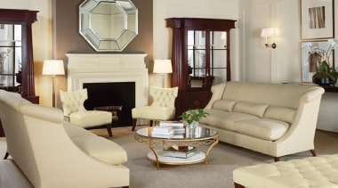 """Upholstery helps set the foundation for how a chair, coffee table, couch, floor, flooring, furniture, hardwood, home, interior design, living room, loveseat, property, room, table, window, orange"