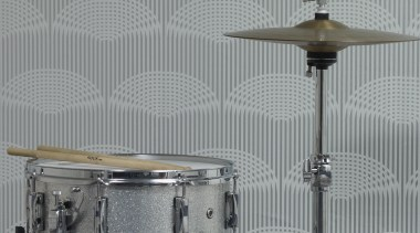 Statements Range bass drum, ceiling, cymbal, drum, drumhead, drums, hi hat, light fixture, musical instrument, percussion, percussion accessory, skin head percussion instrument, snare drum, timbale, timbales, tom tom drum, wall, gray