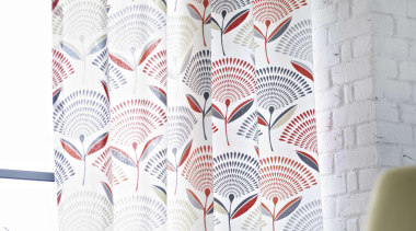 A beautiful collection of drapery prints - Accent curtain, interior design, pattern, textile, wall, window treatment, white