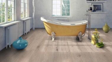 NEO Water Resistant CSF for all residential applications bathtub, floor, flooring, hardwood, laminate flooring, tile, wood, wood flooring, gray
