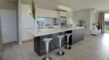 For more information, please visit www.gjgardner.co.nz countertop, floor, flooring, interior design, kitchen, property, real estate, room, gray