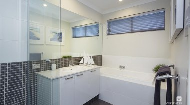 Bathroom design. - The Meridian Two Storey Display bathroom, interior design, property, real estate, room, gray