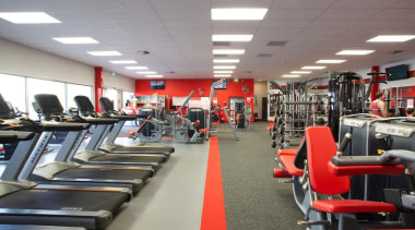 As commercial cleaning specialist's, we have a highly exercise machine, gym, leisure centre, room, sport venue, structure, gray
