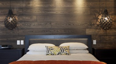 Choose from a range of engineered timber flooring bed, bed frame, bed sheet, bedroom, ceiling, floor, flooring, furniture, interior design, lighting, room, suite, wall, wood, black