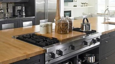Start a myTrends ProjectCreate an ideas hub for cabinetry, countertop, cuisine classique, flooring, home appliance, interior design, kitchen, kitchen appliance, kitchen stove, room, black