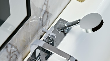 axor citterio ambience for Hansgrohe - axor citterio hardware, plumbing fixture, product design, tap, white, gray
