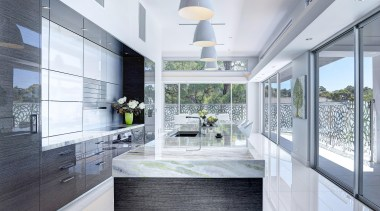 Winner Kitchen Design fo the Year 2013 South architecture, countertop, daylighting, house, interior design, kitchen, real estate, window, white, gray